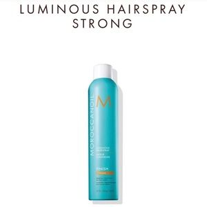 NEW MOROCCANOIL 3STRONG HAIRSPRY & HYDRATING CREAM